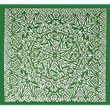 Grateful Dead Bear Mandala Tapestry 60x60