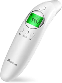 Metene Medical Forehead and Ear Digital Thermometer