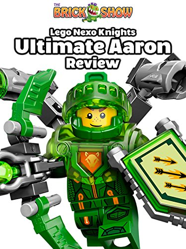LEGO Nexo Knights Ultimate Aaron Pack Review (70332)