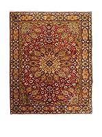 QURAMA Alfombra Persian Tabriz Rojo/Multicolor 298 x 205 cm