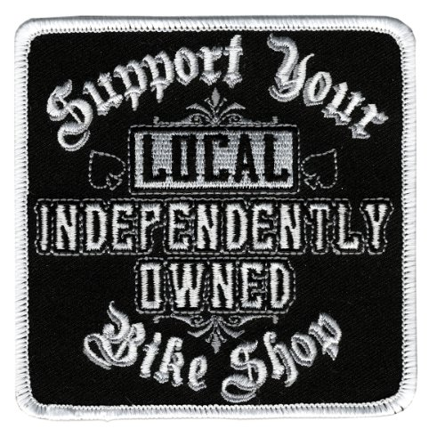 Hot Leathers Support Your Local Shop Patch (4
