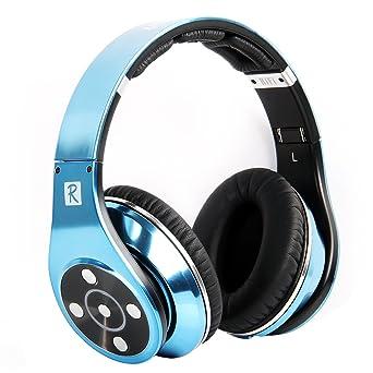 Bluedio R+ Legend Version Bluetooth Headphones Supports NFC Bluetooth4.0 Revolutionary 8 Tracks 8 Driver Units Deep bass effect wireless Headphones On at amazon