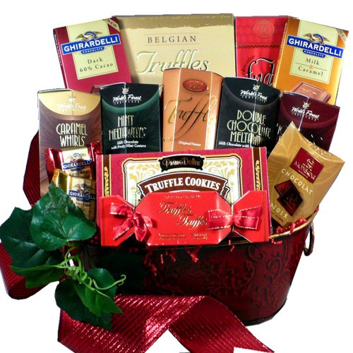 Art of Appreciation Gift Baskets Decadent Chocolate Truffle Treats