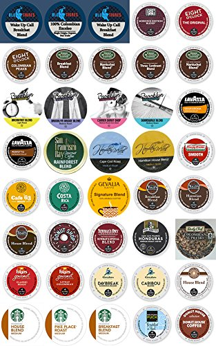 40-Count K-Cups And Single Serve Coffee Cups DeLuxe Light & Medium Roast Variety Pack For K-Cup Brewers (Best Light Roast Coffee compare prices)