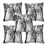meSleep Winter Is Coming 3D Cushion Cover (16x16) Set of 5
