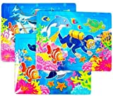Sealife Mini Jigsaw Puzzles Party Bag Fillers, 6 supplied
