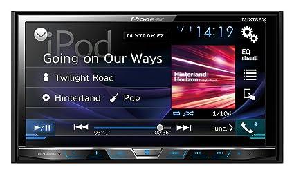 Pioneer AVH-X5800DAB Vidéo Embarquée Fixe, 16:9 Tuner Intégré Bluetooth