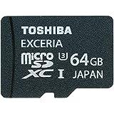 東芝 microSDXC 64GB Class10 UHS-I U3対応 R:95MB/s W:60MB/s 海外リテール SD-C64GR7VW060A TOSHIBA