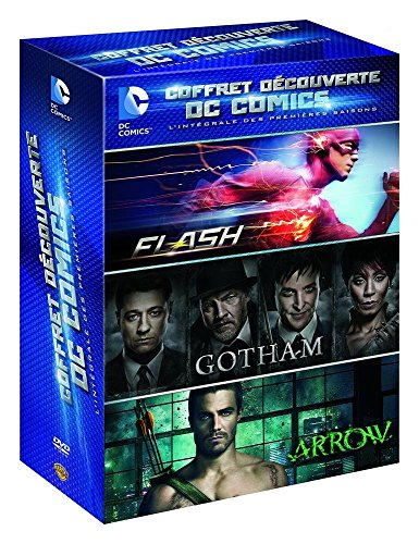 Coffret-dcouverte-DC-Comics-lintgrale-des-premires-saisons-Flash-Gotham-Arrow
