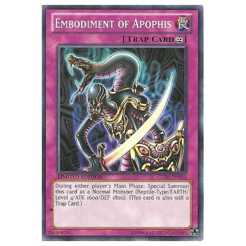 Yu-Gi-Oh! - Embodiment of Apophis (GLD5-EN050) - Gold Series: Haunted