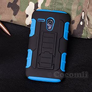 Motorola Moto G Case, CocomiiÃ'® [HEAVY DUTY] Motorola Moto G Robot Case **NEW** [ULTRA FUTURE ARMOR] Premium Belt Clip Holster Kickstand Bumper Case [MILITARY DEFENDER] Full-body Rugged Dual Layer Hybrid Protective Cover Bump