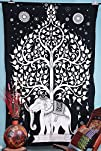 Elephant Tree Tapestry ,Good Luck Whi…