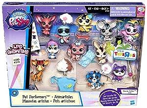 Littlest Pet Shop, LPS Showtime Pet Performers Exclusive Set, 11-Pack