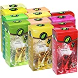 Serengeti Tea 12 Pack Assorted Tea Boxes Include 18 Tea Stick in Each Box (216 Tea Sticks)
