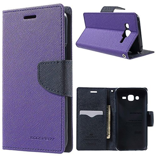 eFinetrick Mercury Goospery Fancy diary wallet case flip cover for SONY Xperia C S39H C2305 PURPLE  available at amazon for Rs.240