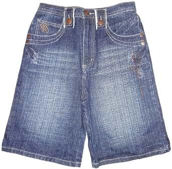 boy s fubu denim shorts size 18 fubu