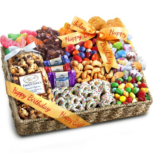 Birthday Party Chocolate  Candies  Gift Basket