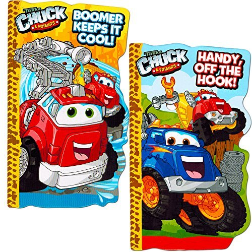Tonka Chuck Board Book Set For Kids Toddlers (Set of 2 Tonka Board Books) (Toddler Truck Books compare prices)