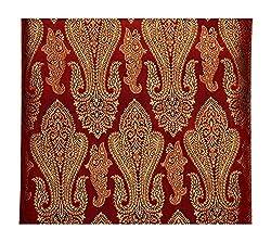 Raj Men's Synthetic Kurta Fabric (Red)