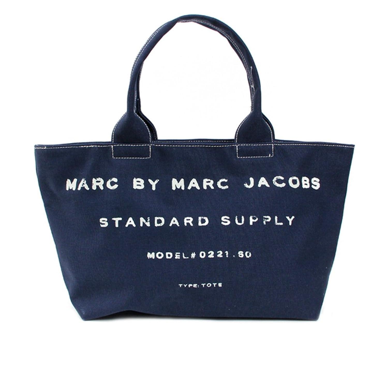 Amazon.co.jp: marc by marc jacobs マーク バイ マーク ジェイコブス BURLAP JACOBS TOTE バーラップジェイコブストート 20-11-0034 ネイビー [並行輸入品]: シューズ&バッグ:通販