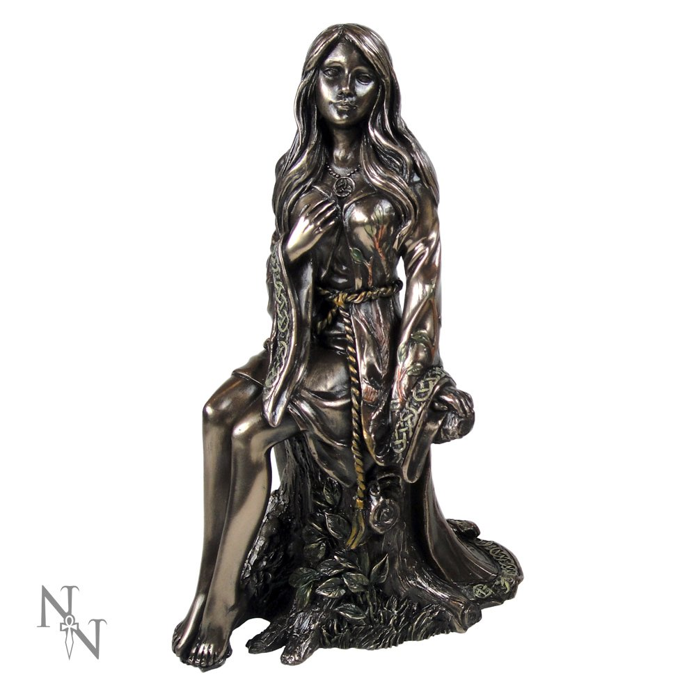 "6.25"" Enchanted Maiden Brozne Finish- Triple Goddess Collection"