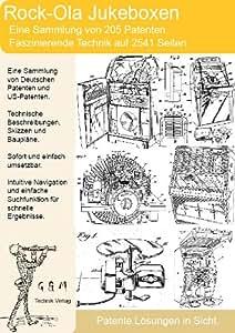 Rock Ola Jukebox: 2541 Seiten einmaliges Patentmaterial!