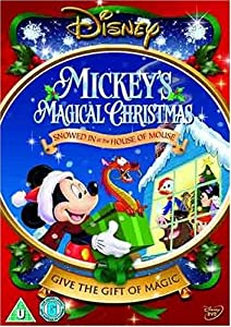 Mickeys Magical Christmas Snowed In At The House Of Mouse Region 2
