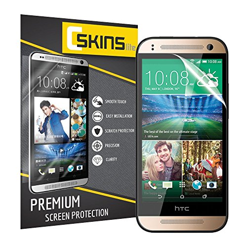 Cskins Lite® Ultra Clear Screen Protector For Htc One Mini 2 (2-Pack)