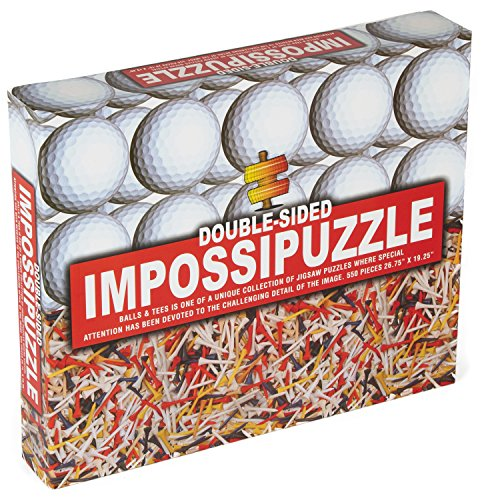 Golfballs and Tees Jigsaw Puzzle - 1