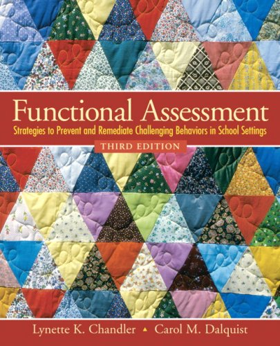 Functional Assessment: Strategies to Prevent and...