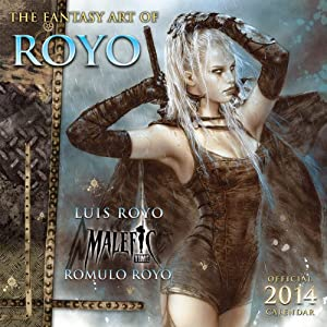 Fantasy Art of Luis Royo 2014 Wall (calendar): Luis Royo
