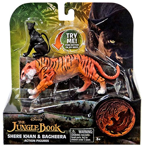 Disney-Jungle-Book-Shere-Khan-and-Bagheera-Action-Figures-2-Pack