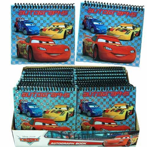 Cars Autograph Book in Display - 1