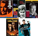 Jack Ryan All 5 Movies DVD Complete Collection: The Hune for Red October, Patriot Games, Clear and Present Danger, The Sum of All Fears, Shadow Recruit + Extras