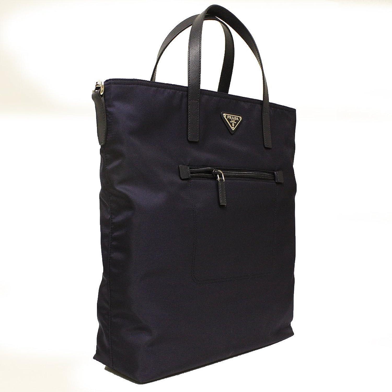 Prada Black Gaufre Nappa Leather Shoulder Bag BT0802: Handbags ...