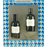 Geoffrey Beene Grey Flannel for Men 2 Piece Gift Set (4 Ounce Eau de Toilette Splash Plus 4 Ounce After Shave Lotion) (Tamaño: 4.0 OZ)