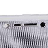 CiDoss® Portable Wireless Bluetooth Speaker with Built in Speakerphone 8 hour Rechargeable Battery (White)