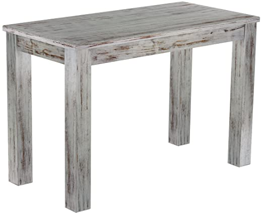 Brasil 'Rio' 115 x 56 cm – Solid Pine Wood Tone Oak Furniture Dining Table