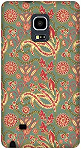 The Racoon Lean Blossom hard plastic printed back case / cover for Samsung Galaxy Note Edge