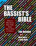 61kV9L%2BDjzL. SL160  The Bassists Bible: How to Play Every Bass Style from Afro Cuban to Zydeco (Musicians Bible)