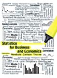 Statistics for Business and Economics (8th Edition)