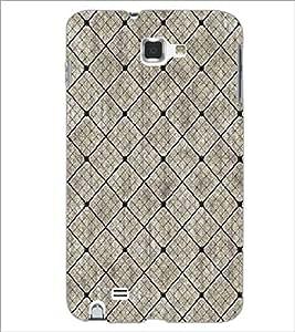 SAMSUNG GALAXY NOTE 1 N7000 DIAMOND PATTERN Designer Back Cover Case By PRINTSWAG