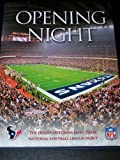 Opening Night: The Houston Texans Make Their National Football League Debut