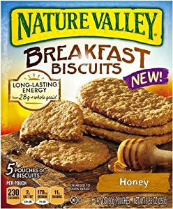 Nature Valley Breakfast Biscuits, Honey, 8.85 Ounce [Pack of 3]