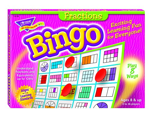 Fractions Bingo Game - 1