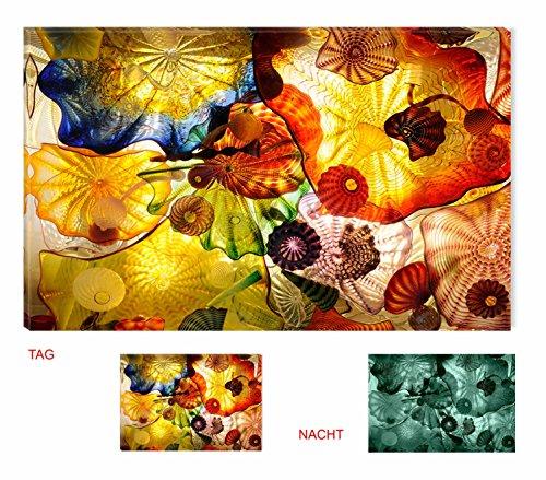 Startonight nachleuchtendes leinwandbild acrylglasbild for Abstrakte kunstdrucke