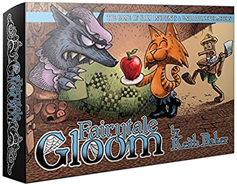 Atlas Jeux Fairytale Gloom Jeu de cartes