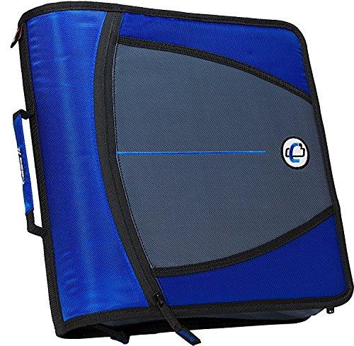 case-it-mighty-zip-tab-3-inch-zipper-binder-blue-d-146-blu