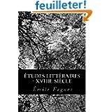 Études Littéraires - XVIIIe siècle