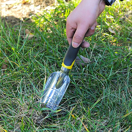 Songmics garden tool set 3 piece garden kit includes for Garden trowels for sale